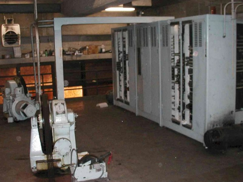 موتورخانه آسانسور,ابعاد موتورخانه آسانسور,استاندارد موتورخانه آسانسور