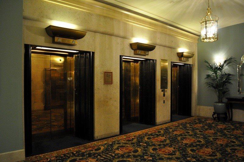 آسانسور های هتل,آسانسور هتل,ابعاد اسانسور اداری