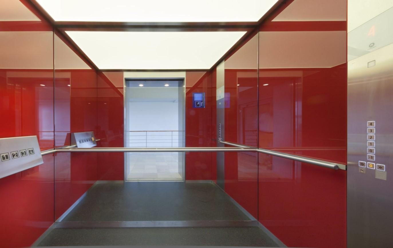 انواع کابین آسانسور,کابین آسانسور,کابین شیشه ای آسانسور