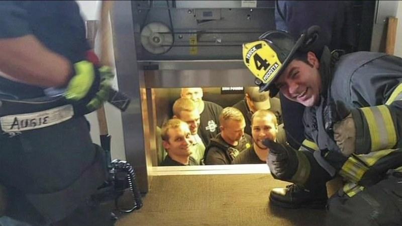آموزش نجات از آسانسور,خطرات آسانسور,رهایی از آسانسور