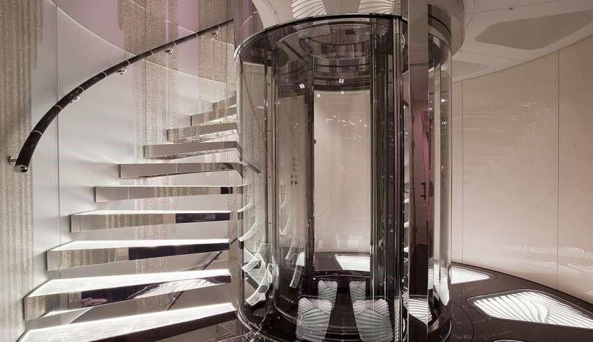 آسانسور پنوماتیک,آسانسورهای پنوماتیک,انواع آسانسور پنوماتیک