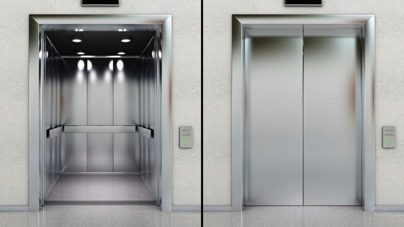 آسانسورهای کششی,انواع پلکان برقی,طراحی آسانسور