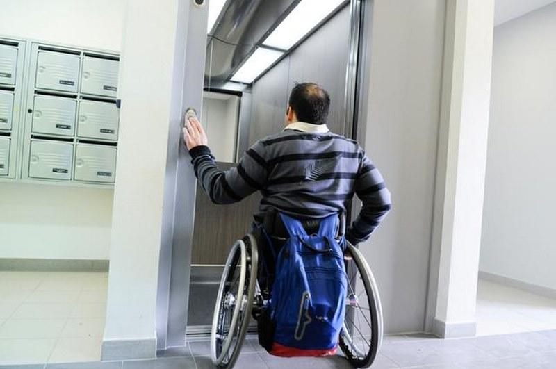 آسانسور معلولین,ویژگی آسانسور,آسانسور معلولین